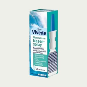 1210 - Elkos Vivede Saline Nasal Spray - German Health Store