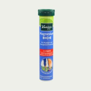 3398 - Kneipp Magnesium B+C+E Effervescent Tabs 17's - German Health Store