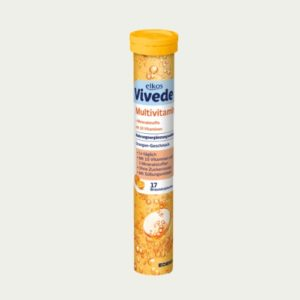 3417-1 - Elkos Vivede Multivitamin Effervescent Tabs 17's - German Health Store