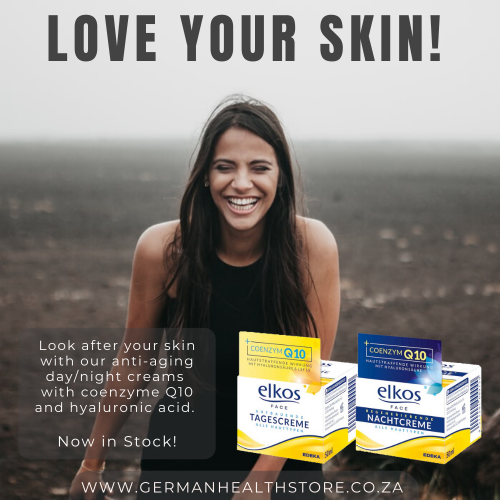 Elkos Face Cream Day/Night Advert - German Health Store