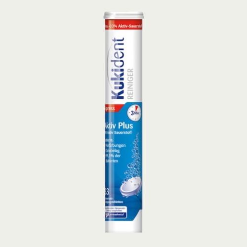 Kukident Aktiv Plus Tabs 33s - German Health Store